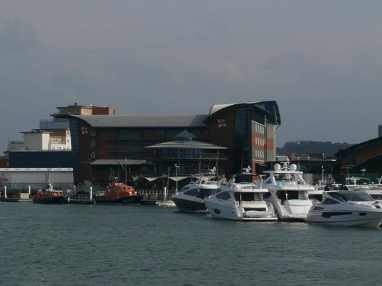 RNLI College:                   The hotel was built to look like a boat