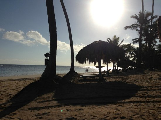 Zoetry Agua Punta Cana:                   the beach in the morning