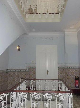 La Casa Noble:                   escalera