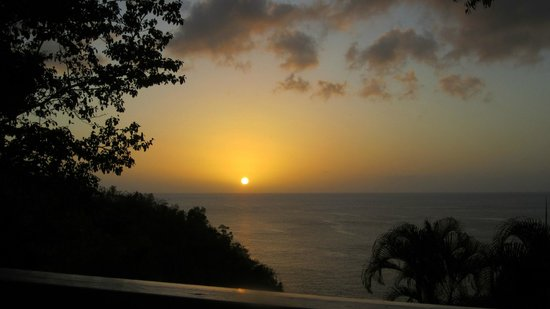Ti Kaye Resort & Spa:                   Beautiful sunset view from our room