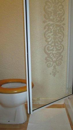 Hawkes Hotel:                   Bijou bathroom