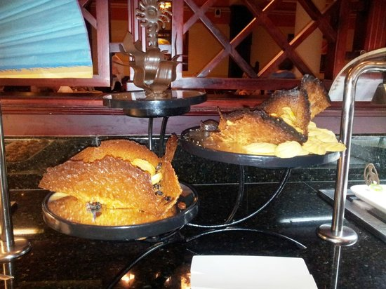 Grand Bahia Principe La Romana:                                     Un dessert du grand Chef Jesus Trasverso