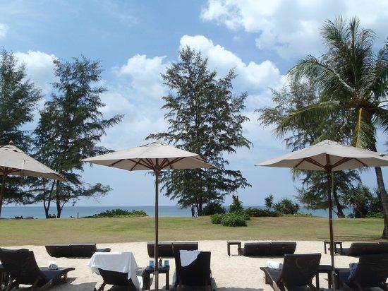 Renaissance Phuket Resort & Spa:                   Sunbeds