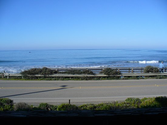 Moonstone Landing:                   View of ocean from First Foor Patio