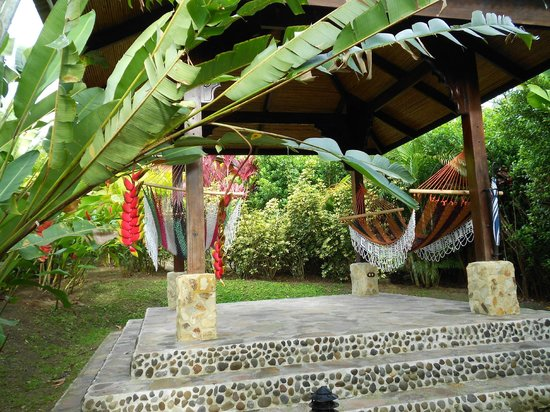 Nayara Hotel, Spa & Gardens:                   Rancho Pura Vida in the daytime