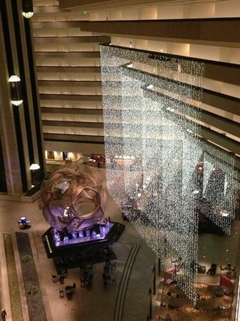 Hyatt Regency San Francisco:                   view of the lobby from 10th floor
