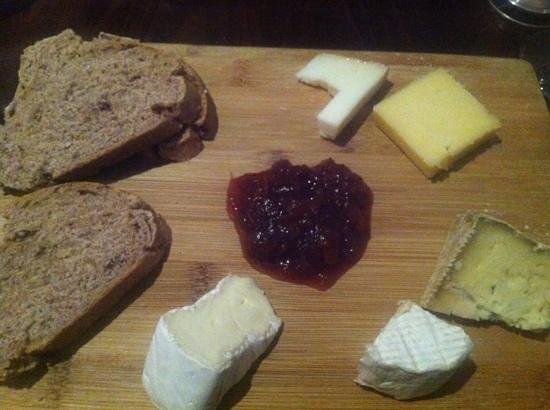 Goodfellows:                   cheese board