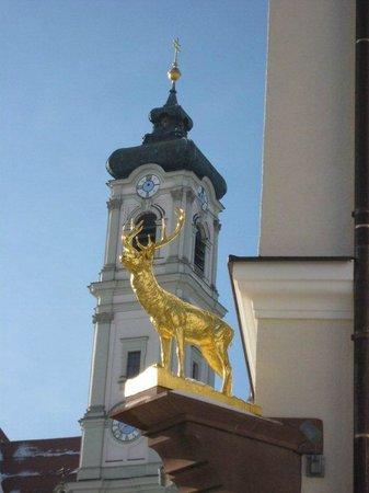 Hotel Hirsch: Blick auf Basilika