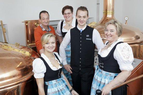 Akzent Hotel Brauerei Hirsch: Hoteliersfamilie