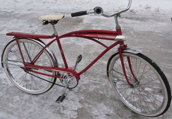 Mackinac Island Bike Shop:                   Sears 1960's bicycle