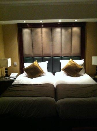 Daphne Hotel:                   Comfy beds