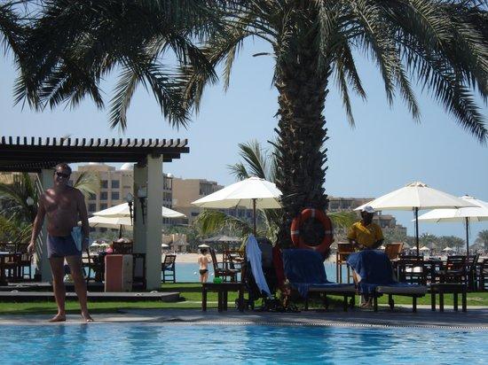 Hilton Ras Al Khaimah Resort & Spa:                   The Dhow Pool