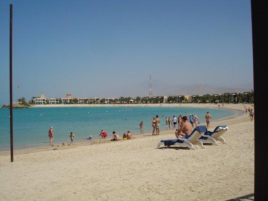 Hilton Ras Al Khaimah Resort & Spa:                   View from the Rio Bar