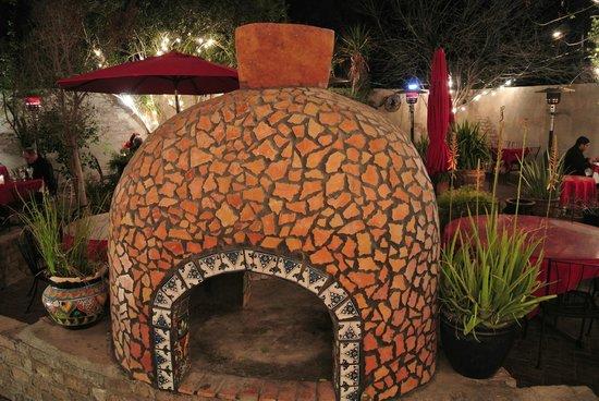 El Zocalo Mexican Grill:                   Brick & tile oven