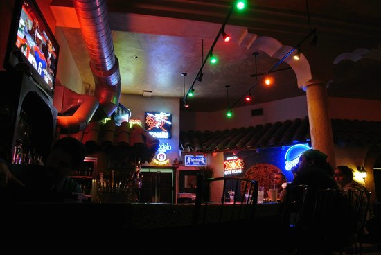 El Zocalo Mexican Grill:                   Bar at night
