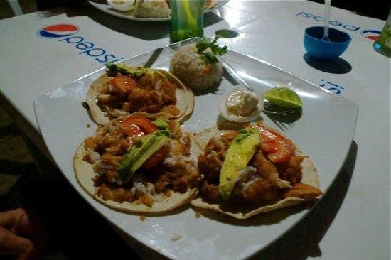 Chiquita:                   Delicious Fish taco's