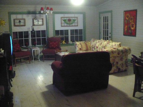 Yellow House Bed and Breakfast: Game & TV room