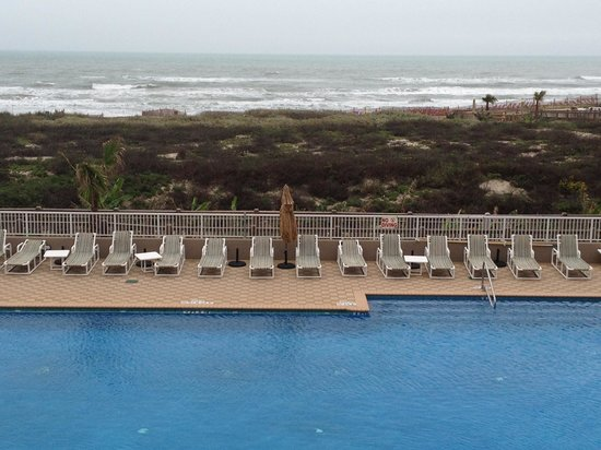 Hilton Garden Inn South Padre Island:                   Ocean View Room.