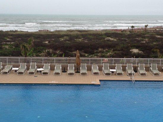 Hilton Garden Inn South Padre Island :                   Ocean View Room.