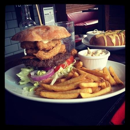 Basildon, UK:                   burger