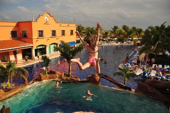 Hotel Marina El Cid Spa & Beach Resort:                   great fun for the kids