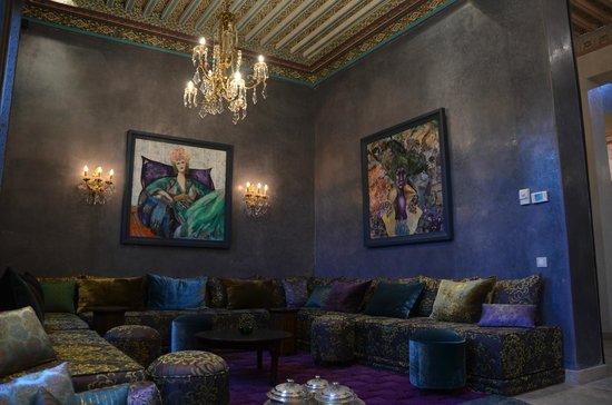 Tigmiza - Suites & Pavillons: salon