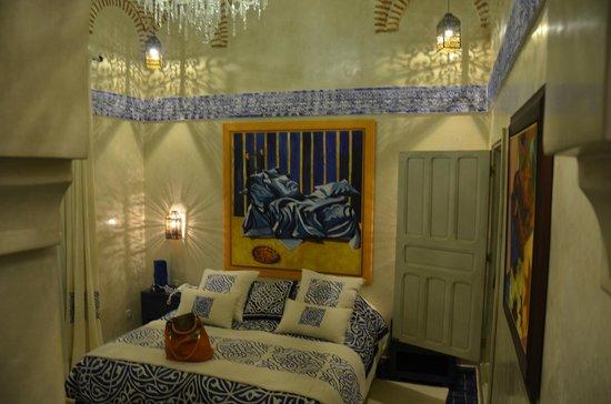 Tigmiza - Suites & Pavillons: suite bleue