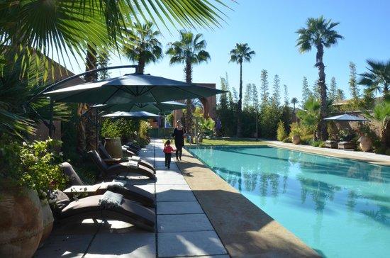 Tigmiza - Suites & Pavillons : piscine