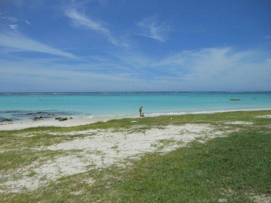 Orchid Villas Mauritius:                   Spiaggia a 2 passi della Villa