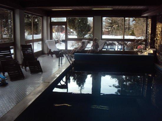 My Mountain Lodge:                   piscine de l'hôtel