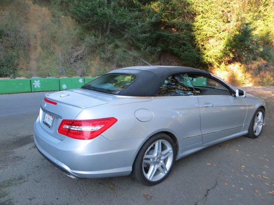 Calistoga Ranch, An Auberge Resort:                   Loaner mercedes