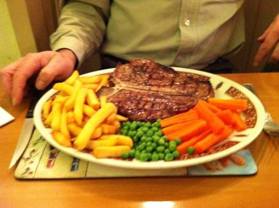 The Dolphin Hotel:                                     A great meal
