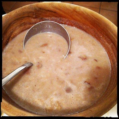 La MarendaSinoira:                   Zuppa di castagne