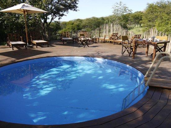 Breakfast By The Pool Picture Of Serengeti Pioneer Camp Serengeti National Park Tripadvisor