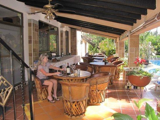 Casa Virgilios: Breakfast, rest area