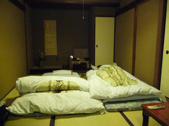 Hiiragiya Bekkan:                   la chambre qui se transforme en un clin d'oeil en salon