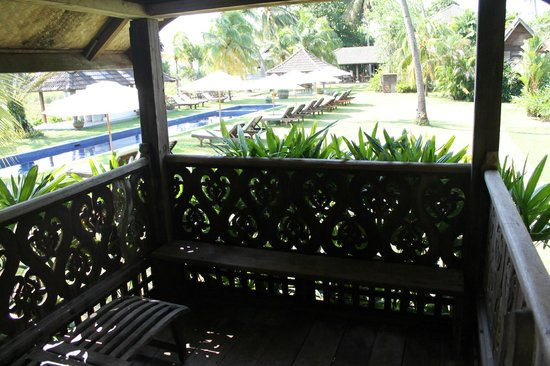 Bon Ton Resort:                   Balcony