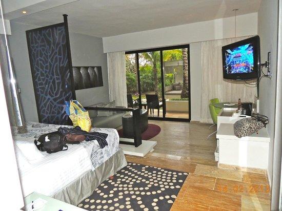 Paradisus Punta Cana:                   Notre chambre...