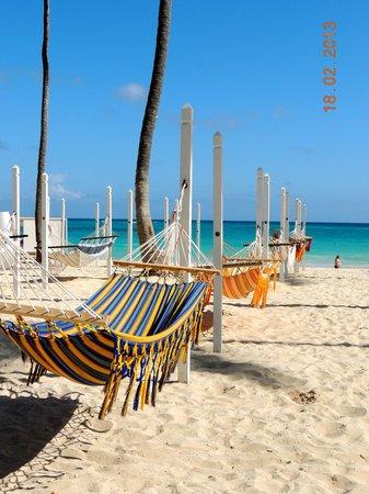 Paradisus Punta Cana Resort:                   La plage...