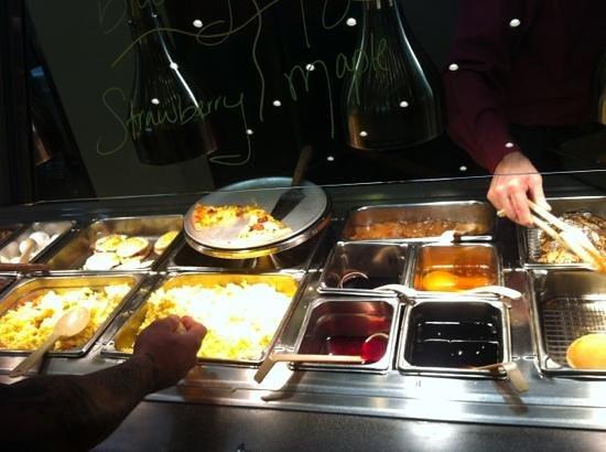 Ponderosa Steakhouse:                   pancakes are yummy