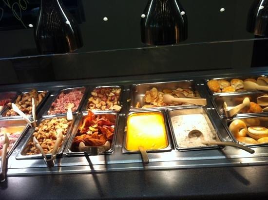 Ponderosa Steakhouse:                   lots of choice