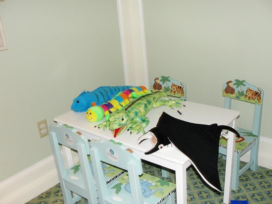The Ritz-Carlton, Grand Cayman:                   Kids area in club