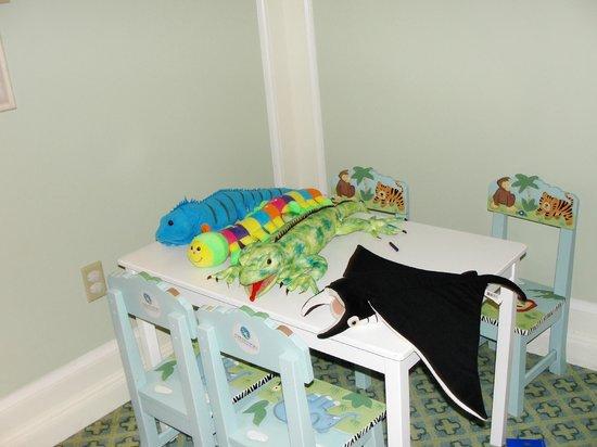 The Ritz-Carlton Grand Cayman:                   Kids area in club