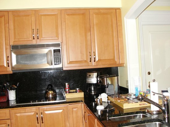 The Ritz-Carlton, Grand Cayman:                   Fully-equipped kitchen!  Didn't cook a thing :)