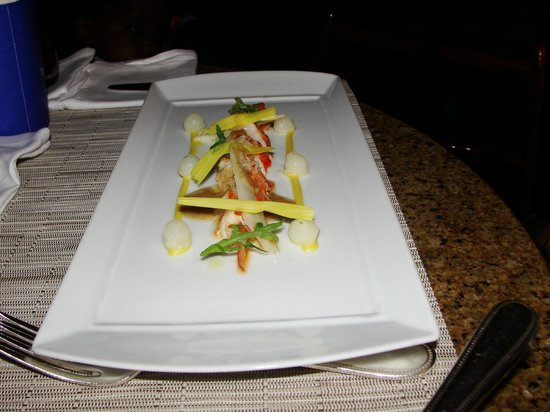 The Ritz-Carlton, Grand Cayman:                   Delicious food!