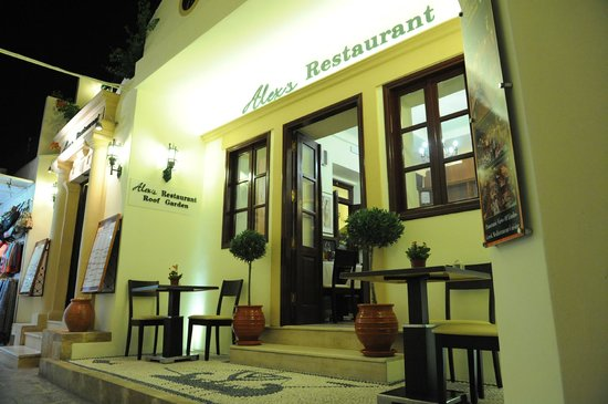 Alex's Restaurant : MAIN ENTRANCE