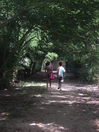 Pousada Horizonte Azul:                   Hall de Saída para a Praia