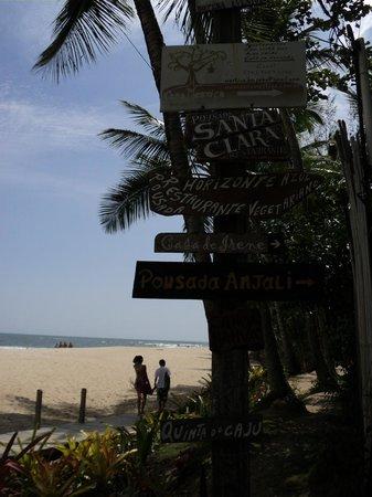 Pousada Horizonte Azul:                   Hall de Entrada da Praia