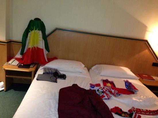 Hotel Praga:                   Paraga Hotel Room