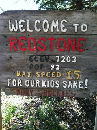 Avalanche Ranch:                   the town of Redstone